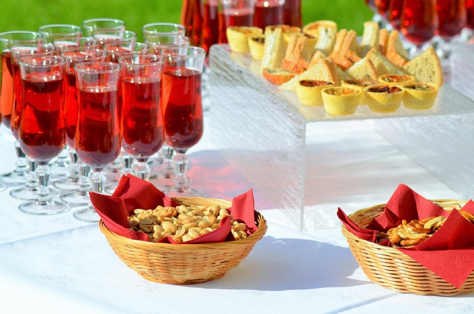 decoration vin honneur exterieur